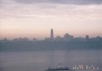 朝焼けマンハッタン
