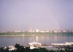 ハドソン川の虹